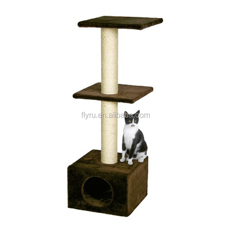 New launched products wholesale durable cat scratching post cat tree