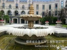Hot selling natural marble outdoor garden water fountain with best price