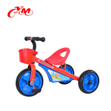 Good quality cheaper baby trike/ strong frame tricycle for kids /tricycle babies head with music and light