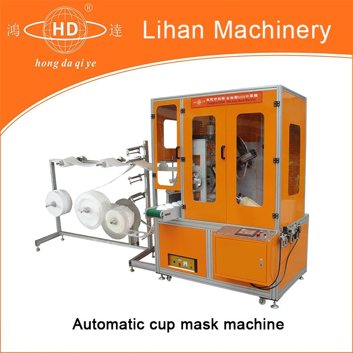 automatic N95 dust mask machine(HD-LHQZD8000)