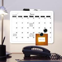 Portable calendar planners design writing board / magnetic calendar whiteboard