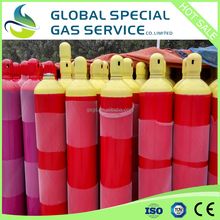 40L-219MM-150BAR high pressure industrial oxygen gas cylinder price