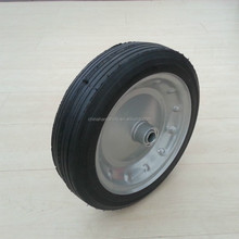 hand truck solid rubber spoke wheels