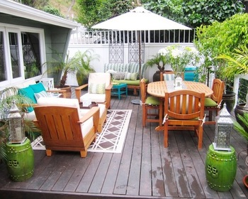 WPC(wood plastic composite) outdoor Decking