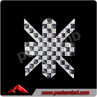 New Design Cross Transfer Point Back Rhinestones,AAA Grade
