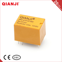 QIANJI High Quality Silver Alloy 1C,1A,1B JRC-21F Power PCB Relay