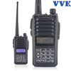 VVK M6 walkie talkie with touch keyboard dual band uhf vhf mobile radio