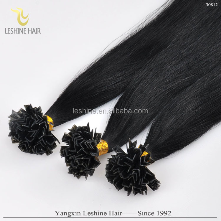 Hot Sale!Top Quality I/U/V/Flat Tip Hair Extension,Wholesale 100% Unprocessed Brazilain Hair Weave, Cheap