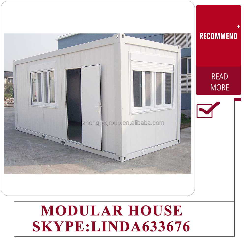 pu Sandwich panels luxury living 20ft container prefab house