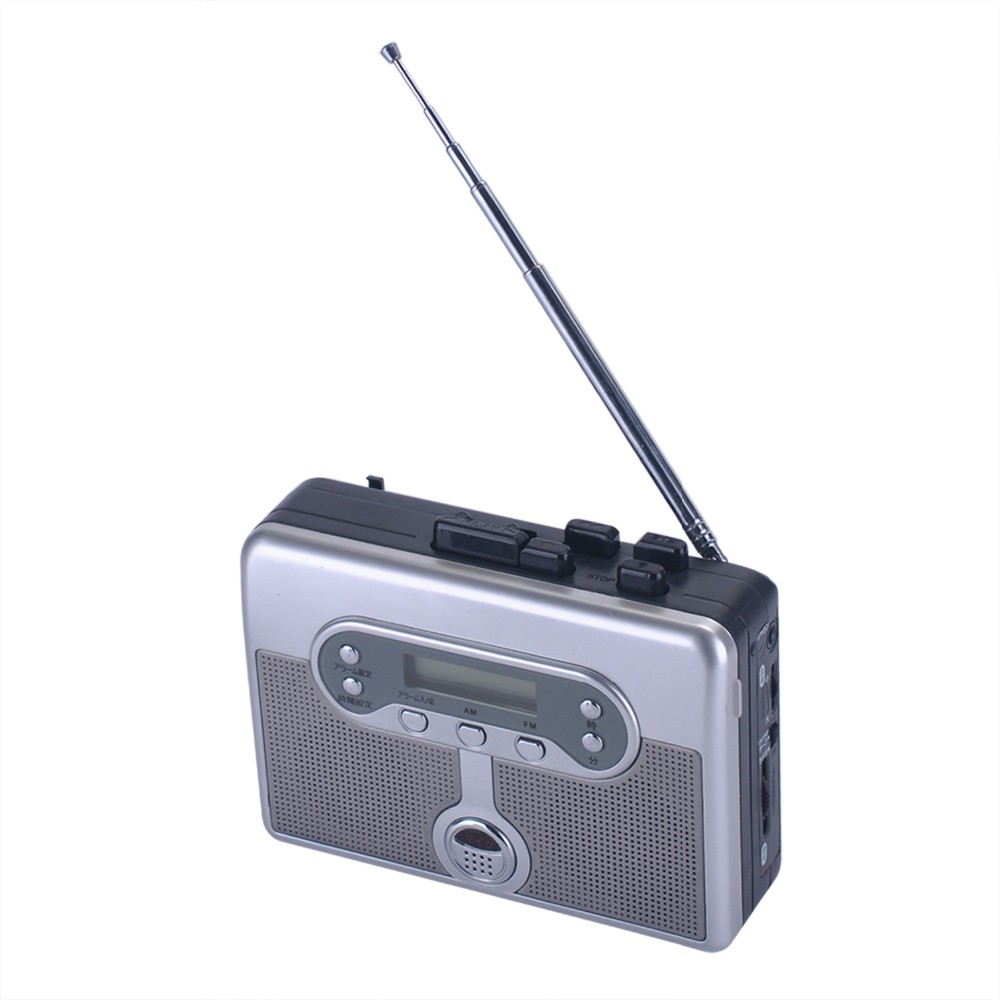 OEM hot-selling Walkman Cassette Player with AM/FM voice record to tape ezcap239