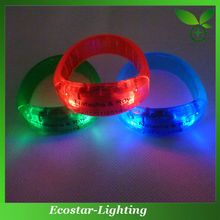 Birthday Gifts LED Flashing Bracelet with Personal Design