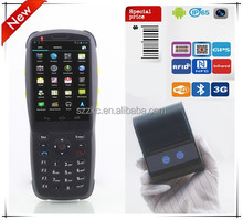 Wifi pos terminal gsm barcode scanner data collector 3501 with Android 4.2