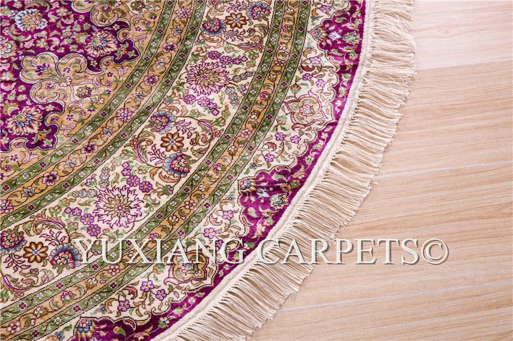 Wholesale 6x6 Foot 300line Handmade Persian Silk Round Rug