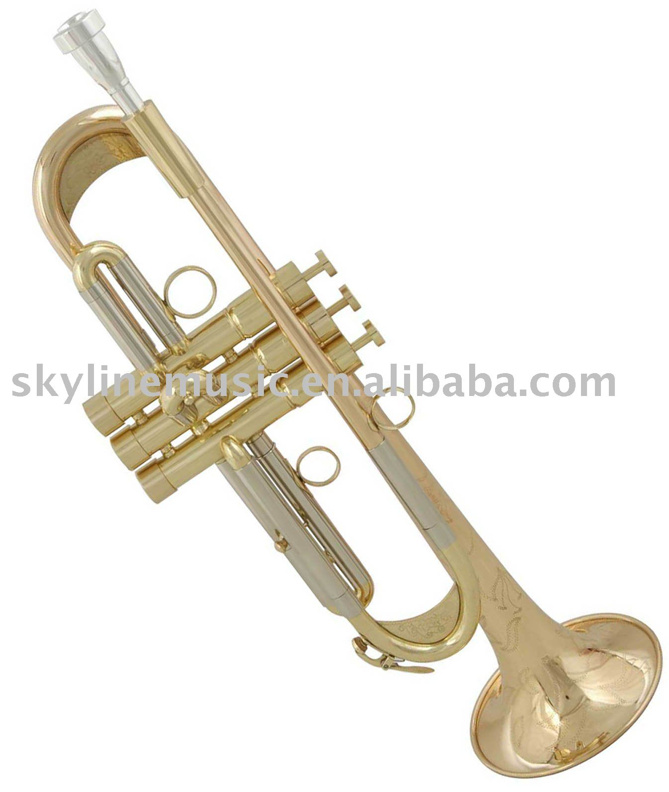 STR133 High grade Bb key trumpet