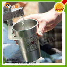 Brewery Item Wholesale Supplier Environmental stainless steel Cup coffee pint cup with Custom Design