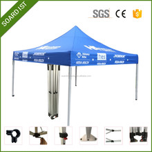 3x3m Aluminum outdoor folding tent with zipper connector