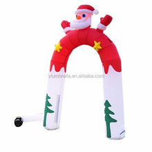 Customized made outdoor promotion christmas inflatable arch for decoration