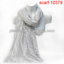 2012 lady zebra scarf new design