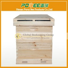 20 Frames top quality honey beehive for beekeeping from the biggest bee industry zone of Chinese