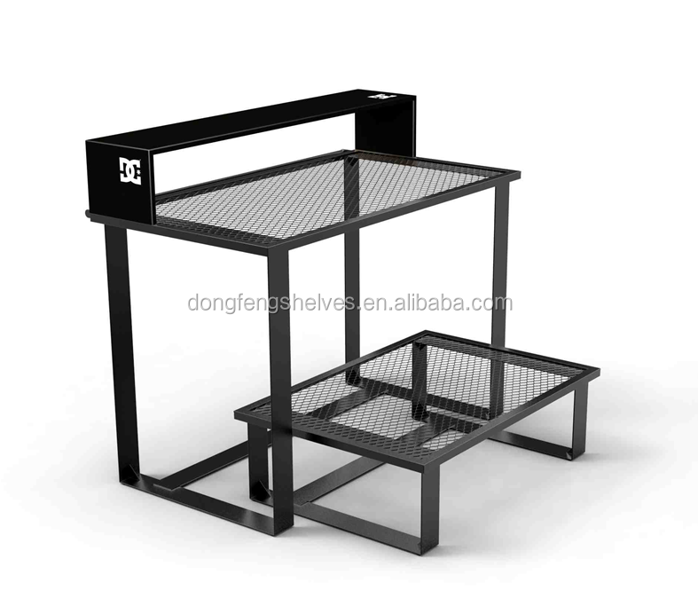 Nesting Table Store Fixture Clothes Rack