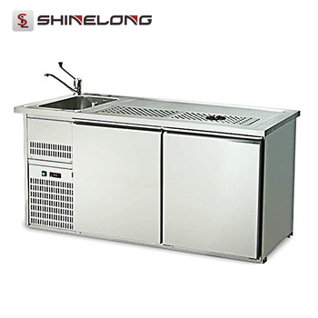 R109 2 Doors Luxury Fancooling Beer Bar Counter