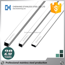 ISO stainless steel tube, rectangular tubular steel sizes