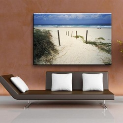 Classic-maxim wateproof printed type seascape outdoor canvas art painting