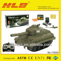1:30 Bullet Shooting RC Tank,New Remote Control Tank