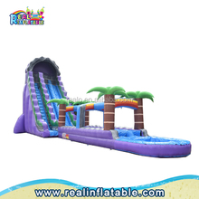 Giant commercial inflatable water slide