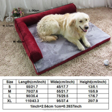 New Style Fleece Elegant Comfort Home Goods Non Slip Pet Dog Beds