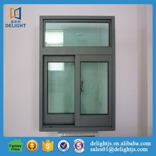 Thermal break jalousie window sliding window blinds