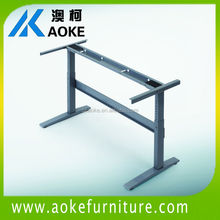 pin type office standing up desk / office stand up table