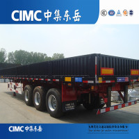 Tri-axle Cargo Sidewall Trailer For Sale