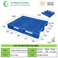 No.85 Heavy duty euro wood plastic pallet price