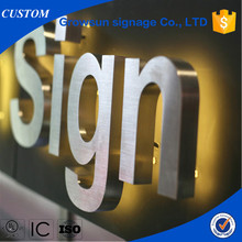 led lighting acrylic letter sign channel lighting storefront sign,wholesale led advertising storefront