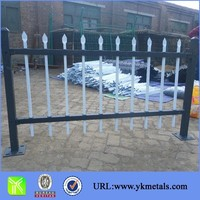 Manufacturer of Spear Top Wrought Iron Picket Fence