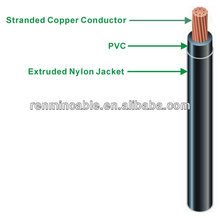 600V THHN THWN Wire With Nylon Coated for Building Wire