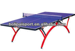 Outdoor Rainbow Ping Pong/Table Tennis Table