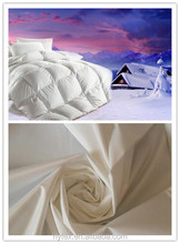260T 100% Polyester Taffeta fabric downproof fabric for bed sheet down quilt