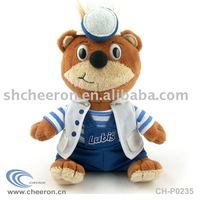 Plush Doctor Toy, Stuffed Doctor Bear, Stuffed Bear in doctor uniform