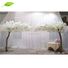 GNW Artificial Wedding Warm White Cherry Blossom Trees Wedding Arch Decoration