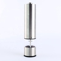 Best seller manufacture round electric salt pepper mill