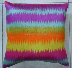2014 New Design of full embroidery Cushion Cover