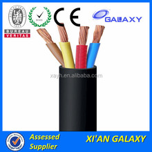 low voltage Infrastructure Electrical Power Cable price per meter SWA STA Types of Underground electric cable 6mm2