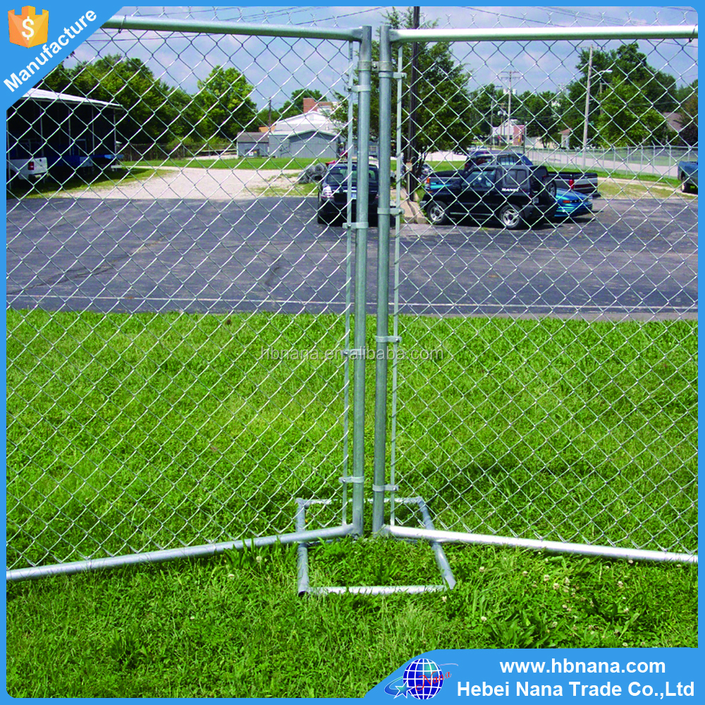Outdoor temporary dog fence/ metal removable fence