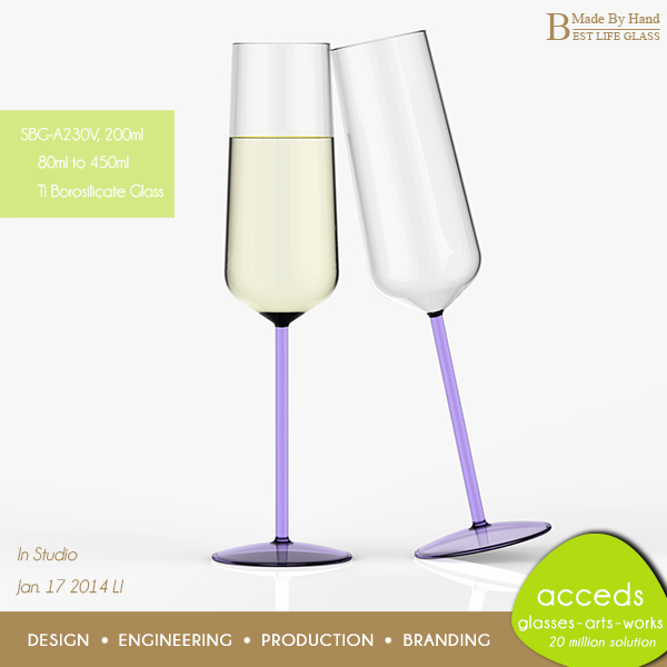 Decorative wholesale handmade bulk crystal wine glass for Decorative wine glasses cheap