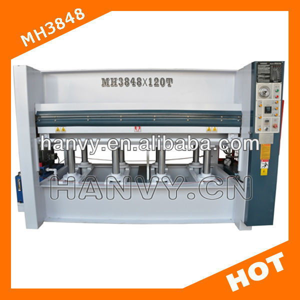 Hot Press Machine HM3948 for Pressing Wood Door