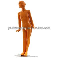 Fiberglass cute kids mannequin,colorful little boy model for outdoor display
