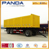 Africa Widely Use Full Trailer, 30ton Cargo Trailer, 2 Axle Drawbar Semi Trailer