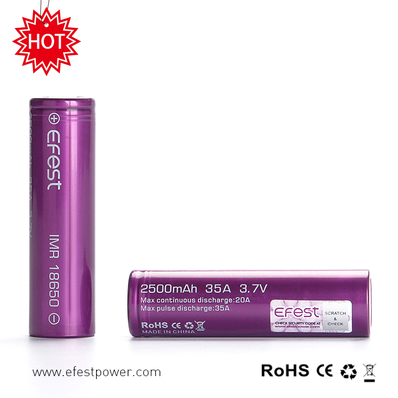 3200mah Orignal Rechargeable Li-ion Battery IMR 18650 3.7v 2500mah 18650 Li-ion Cells